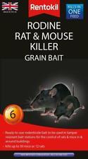 More details for rodine rat and mouse killer grain bait poison 6 sachets by rentokil