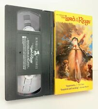 JRR Tokien's Lord of the Rings Animated Movie (VHS, 1993)