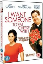 I WANT SOMEONE TO EAT CHEESE WITH JEFF GARLIN SARAH SILVERMAN HF UK R2 DVD L NEW