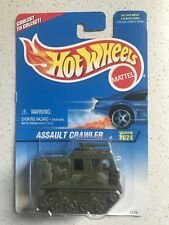Hot Wheels Assault Crawler Military  #624 On Blue Card
