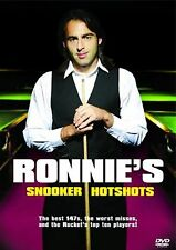 Ronnie OSullivan Ronnie's Snooker Hotshots DVD UK Release Brand New Sealed R2