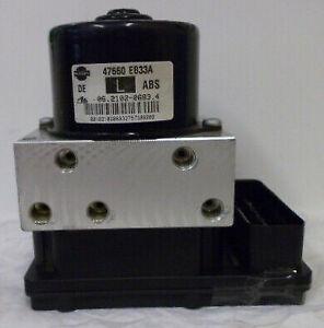 NISSAN NAVARA 2.5 DCI ATE ABS PUMP/MODULE PART No 47660EB33A & 06.2109-0887.3