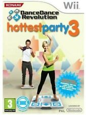 DANCE REVOLUTION HOTTEST PARTY 3 Nintendo WII Videogioco Versione UK