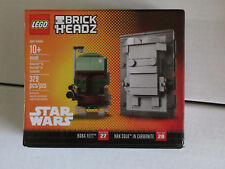 LEGO BRICK HEADZ STAR WARS BOBA FETT HAN CARBONITE Sold Out Exclusive NYCC 2017