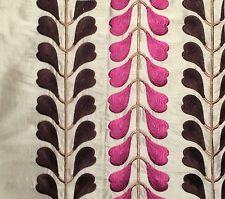 OSBORNE & LITTLE Ambon viscose silk India pink new remnant