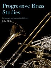 PROGRESSIVE BRASS STUDIES FOR TRUMPET & OTHER TREBLE CLEF BRASS Sheet Music Book