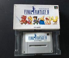 Final Fantasy IV 4 SNES Super Nintendo Super Famicom jap