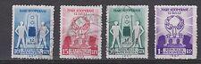 Indonesia Indonesie 200 - 203 used gebruikt 1957 Dag van de Cooperatie