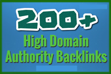 Create Over 200 Backlinks On High Domain Authority Websites
