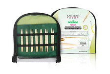 "Knitter's Pride Bamboo Special 16"" Short Tip Interchangeable Knitting Set"