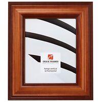 Craig Frames Americana, Walnut Brown Wood Picture Frame