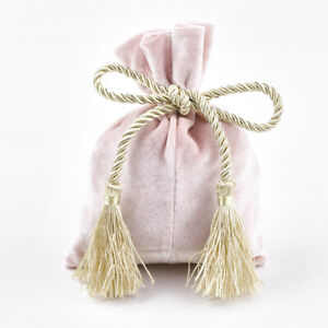 10x Velvet Drawstring Pouch Bag Jewelry Bags Wedding Party Favour Gift Bag