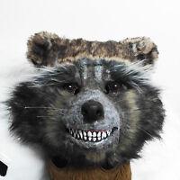Guardians Of The Galaxy Rocket Raccoon Full Mask Cosplay Prop Toy Marvel Hero