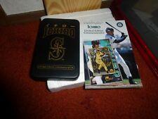 Ichiro Susuki-Seattle Mariners L.E. 24k Gold Mint-Card-New-Must See!!