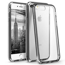 New Bumper with Clear Hard Back TPU Silicone for iPhone SE 4 5 5C 5s 6 6S 7 PLUS