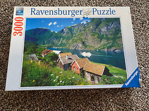 ravensburger 3000 piece puzzle sognefjiord norway
