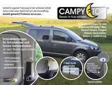 VW CADDY ab 2004 Kinder Fensterabdeckung 100% Sicht + Sonnenschutz 2 Türfenster