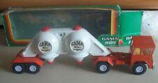 Gama West Germany 9294 Silo-wagen cement semi truck Faun boxed rare