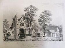 Película para impresión 1842; Gate House en Oxenford Grange, parte de Peper Harow Estate, Surrey