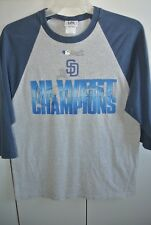 San Diego Padres 2005 NL West Champions Pullover T/S Mens Small Lee MLB/Nice