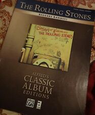 Rolling Stones Beggars Banquet piano vocal guitar chord book free usa shipping