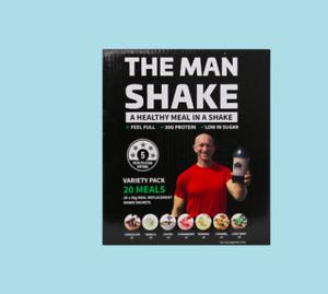 The Man Shake Man Shake Variety 20 Pack FREE SHIPPING