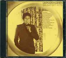 CD: Leonard Cohen: Leonard Cohen - Greatest Hits, Columbia COL CD 32644