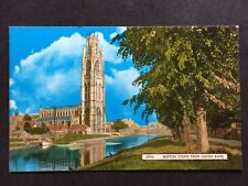 RP Vintage Postcard - Lincolnshire #51 - Boston Stump From Haven Bank