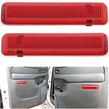 L& R Rear Door Panel Courtesy Light Lens Interior For GM Truck 15183155 15183156