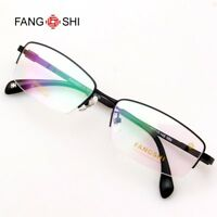 cb79485560 Glasses Eyewear Eyeglasses Halfrim Frame β titanium Optical Spectacle  Rectangle