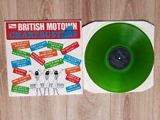 BRITISH MOTOWN CHARTBUSTERS on green vinyl