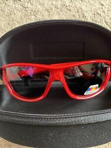 Gul Cz React Sunglasses Floating Polarised One Size Red Glasses
