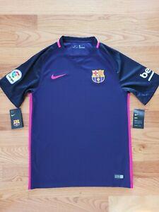 Nike Barcelona Jersey 2016/17 Away 776844-525 Men's Size Medium