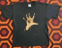 RARE Vintage 1998 System Of A Down T Shirt sz X Large 90s Black Concert Tour Tee