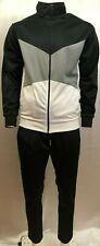 Black Ash T4 Mens Tracksuit Jogging Suit Training suit Full zipper black grey