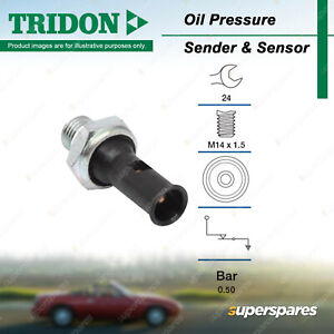 Tridon Oil Pressure Switch for Volvo 240 Series 360 740 760 850 940 960 C30 C70