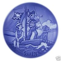 BING & GRONDAHL 2013 Children's Day Plate LITTLE PIRATE New in Box B&G