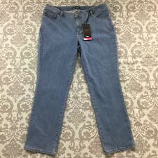 0e8cb63b Lee Womens Jeans size 18W new nwt Medium Wash Classic Fit Straight Leg  Stretch