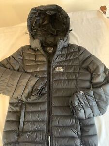 Ladies Size L The North Face Black 700 Down Puffer Jacket Like New