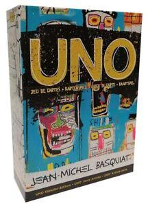 Mattel Games GDG38 Uno Künstler-Edition Jean-Michel Basquiat Kartenspiel ab 7 J.