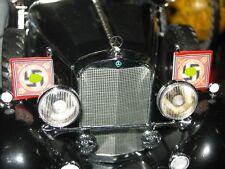 1/18 SIGNATURE MODELS 1938 38 MERCEDES BENZ G4  - CAR FLAGS