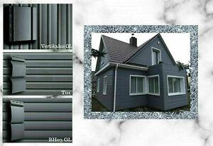 Fassadenverkleidung Kunststoffpaneele mehrfarbig Paneele Fassadenpaneele Carport