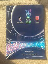 Bolton Wanderers v Rabotnicki Kometal - UEFA Cup 1st, 2nd Leg  2007/08 Programme