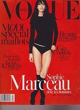 VOGUE PARIS MAGAZINE #947 MAY 2014, SOPHIE MARCEAU, JACKIE KENNEDY.