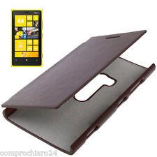 Funda Cartera marrón oscuro Para Nokia Lumia 920 - Cover Flip