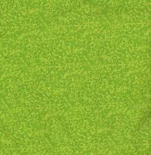 QUILT FABRIC: 100% COTTON TONAL, LITTLE BIT, LIME GREEN LB-09, Per Yard