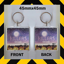 KILLERS - DAY AND AGE - CD COVER KEYRING