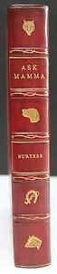 """R.S. SURTEES, """"ASK MAMA;"""" OR THE RICHEST COMMONER IN ENGLAND, FINELY BOUND"""