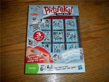 Pictureka Kubes Game Family Card Game by Hasbro NEW