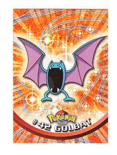 1999 TOPPS SERIES 1 POKEMON TV ANIMATION EDITION CARD # 42 GOLBAT